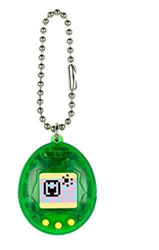 (Tamagotchi mini, Translucent Green with Yellow)