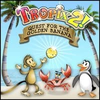 TROPIX 2 THE QUEST FOR THE GOLDEN BANANA Juego Spanis Pc Game