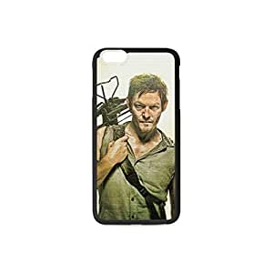 The Mixture Flexible Plastic and TPU Case Cover with the Pattern Daryl The Walking Dead for Iphone 6 Plus5.5 Case(Black&White) Kimberly Kurzendoerfer