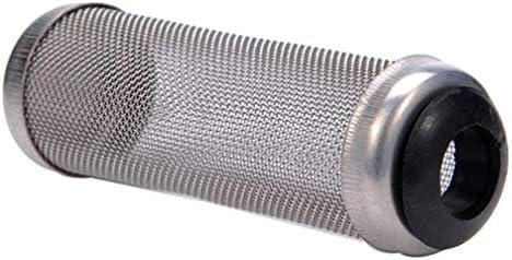 LJSLYJ ステンレススチール製防水カバーフィルターセット用ウォータープロテクションフィッシュエビアイソレーションネットセット流入保護プロテクト、S