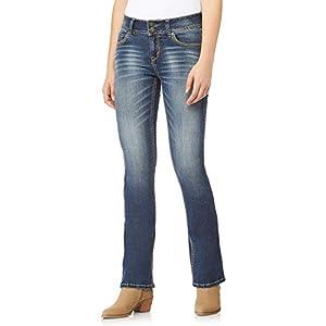Women's Juniors  Curvy Bootcut Jeans