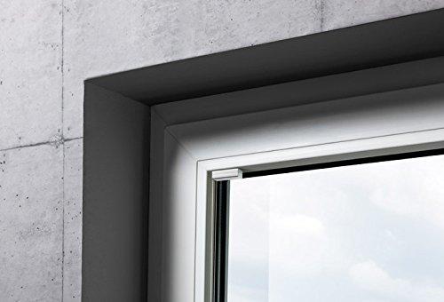Mydeco® 80x210 cm [BxH] in creme - - - Plissee Jalousie ohne bohren, Rollo für innen incl. Klemmträger (Klemmfix) - Sonnenschutz, Sichtschutz für Fenster und Türen B008KNUPTU Plissees f3082e