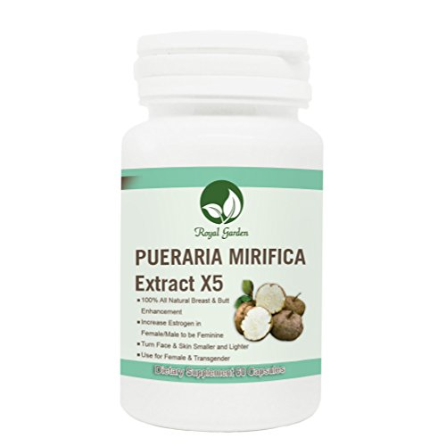 Big Fast Enhancement Breast Boob with Pueraria Mirifica Extract from Organic Natural Supplement Increase Estrogen Hormone 60 Capsule Pill, by CANAE