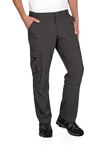 Jack Wolfskin Herren Hose Mosquito Safari Pants Men, Dark Steel, 54, 1501431-6032054