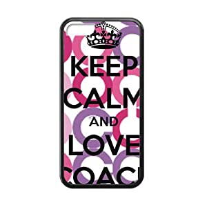 SANLSI Coach design fashion cell phone case for iPhone 5C