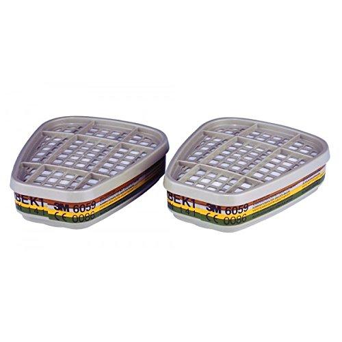 2 UD Filtro 3M 6059 Categoria ABEK1