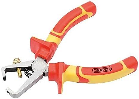 Draper Expert 160mm VDE Long Nose Pliers 69174 Hardened Chrome Vanadium Steel