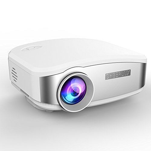 Projector,Mini LED Multimedia Video LCD Projector 1200lum...