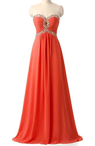 orange 70s dress - 3