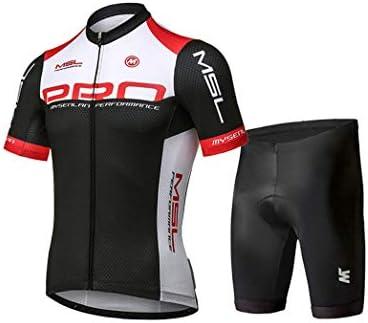 Cycling Jersey/&Shorts set for mens bike bicycle short sleeve shirt 3D Pad pants