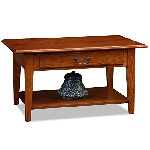 Table Oak Small Coffee - Leick 10029-MED Favorite Finds Coffee Table