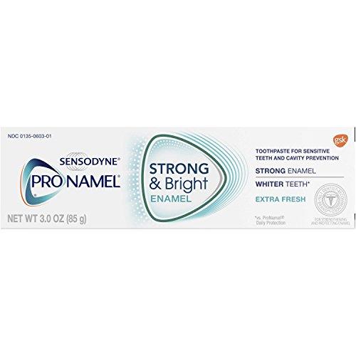 Pronamel Strong & Bright, Whitening Enamel Toothpaste,  Extra Fresh, 3 ounce