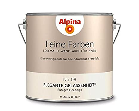 Alpina Feine Farben Elegante Gelassenheit 2,5 LT   898594: Amazon.de:  Baumarkt