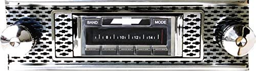 USA-630 II High Power 300 watt AM FM Car Stereo//Radio Custom Autosound Stereo compatible with 1955 Chevy Bel Air /& Nomad