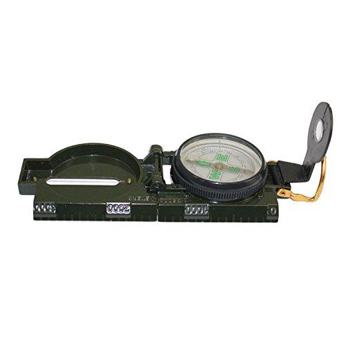 Wanderkompass Peil & Marschkompass Metall Bundeswehr Kompass Militär von der Marke PRECORN