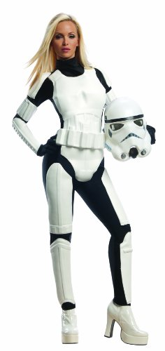 Rubie's Star Wars Female Stormtrooper, White/Black, (Halloween Costume Ideas For Adult Women)