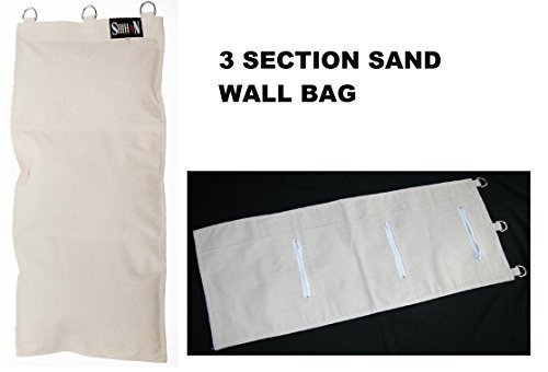 NWS SHIHAN Saco rellenable para kung fu con 3 secciones NWS SPORTS UK LTD WALL BAG 3 SECTION