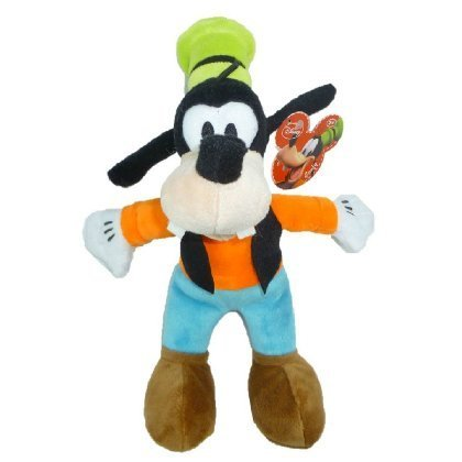 Disney Just Play, Junior Mickey Mouse Clubhouse, Goofy Bean Bag Plush, 9.5 Inches