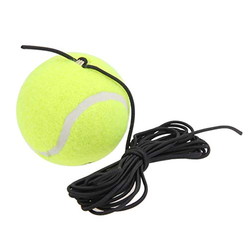 (Ponis-Limos - Single Package Drill Tennis Trainer Tennis Tool with String Replacement Rubber Woolen Training Tennis Accessories)