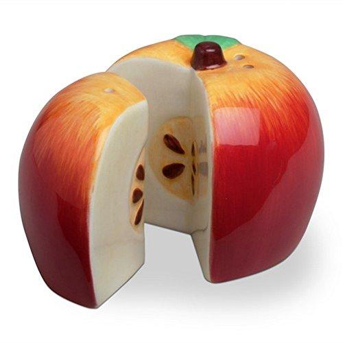 TAG Sliced Apple Salt & Pepper Shaker Set