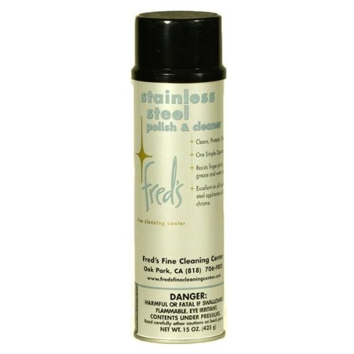 Freds Stainless Steel Polish & Cleaner by Freds Fine Cleaning Center