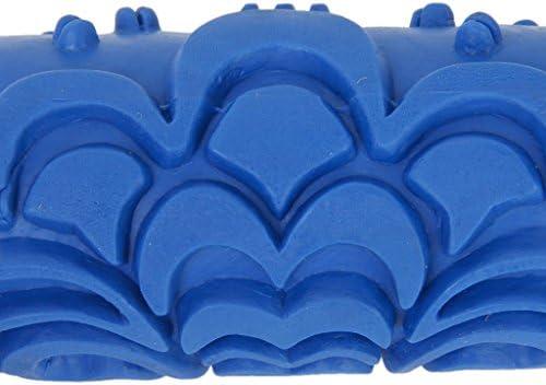 PRINDIY 15cm Rodillo de Pintura Pared de Nubes Relieves Decoraci/ón para la decoraci/ón de la M/áquina Azul