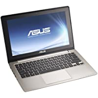 Asus VivoBook S200E 29,5cm (11,6 Zoll) Netbook (Intel Core i3 3217U, 1,8 GHz, 4 GB RAM, 500 GB HDD, Intel HD, Touchscreen, Win 8) grau ,QWERTZ