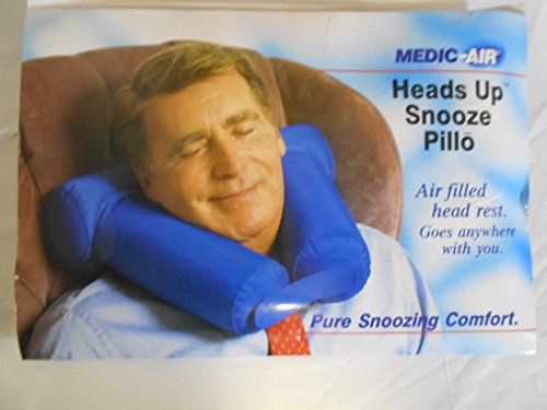 Air Inflatable Medic (Corflex Travel Neck Pillow- Inflatable Travel Pillow - Medic Air Snooze Pillo)