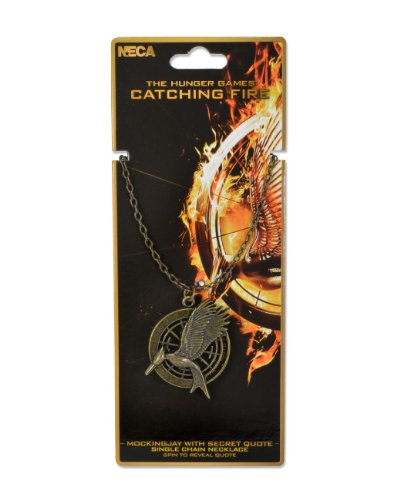 Hunger Games Catching Mockingjay Necklace