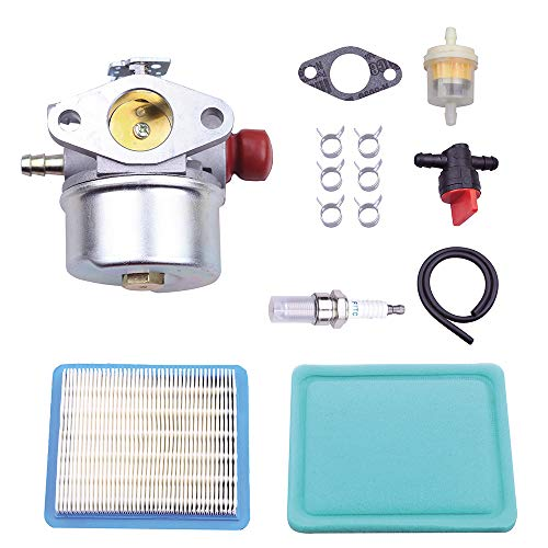 Carburetors Color : Silver Replacement Parts Carburetor Compatible OHH45 OHH50 5HP 5.5HP 6HP 6.5HP OHH OHV Replacement for Carburetor