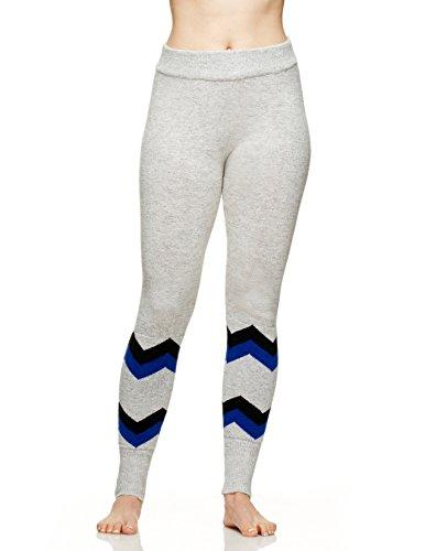 Hottotties Women's Sweater Legging, Mix Grey, Small
