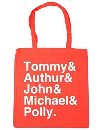 family 10 x38cm Bag 42cm HippoWarehouse Beach Gym Shelby Shopping Coral Tote litres 5xS4Swq7f