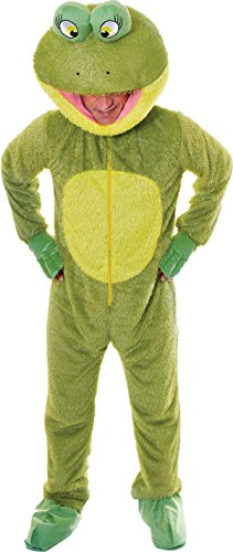 Adult Kermit Mascot Costume