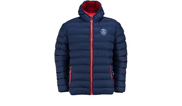 Paris Saint Germain - Abrigo de plumas para hombre, talla de adulto, colección oficial con diseño del equipo de fútbol del Paris Saint Germain, Hombre, ...