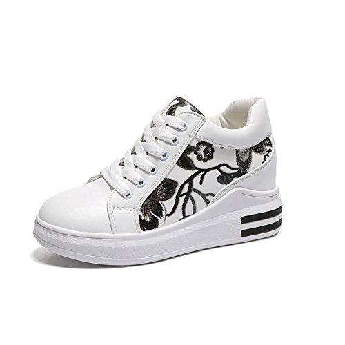 Kleine Weiße Schuhe,Hundert Koreanische Version Von Sports Shoes,Womens Schuhe In Der Dicken Bottom Freizeit A