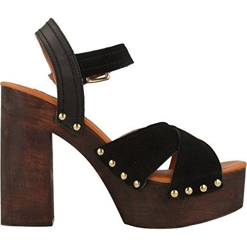 GIOSEPPO chaussures à talons des sandales en bois 39072-02 LEAN Couleur verte ytUdDsGJo