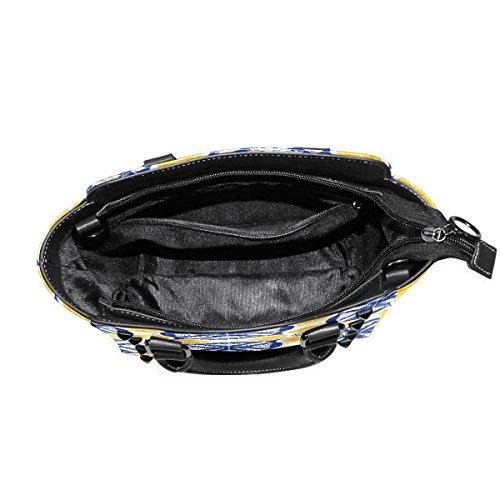 COOSUN - Bolso de asas para mujer multicolor multicolor M Multicolor#4