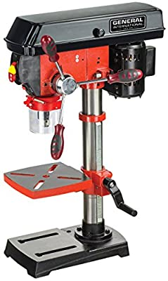 "General International DP2002 10"" 5 Speed Drill Press"