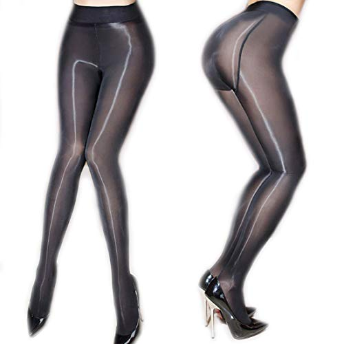 705de4b86f ❤️Women's Sheer Tights Stockings Oil Shiny Stockings Pantyhose Sexy Silk  Pantyhose