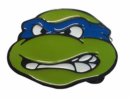Teenage Mutant Ninja Turtles TMNT Leonardo Blue Metal/Enamel Belt Buckle
