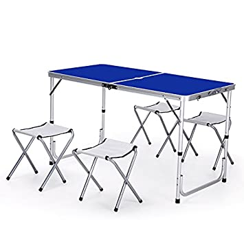 Folding table Mesas y sillas Plegables al Aire Libre de la ...