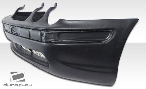 Duraflex ED-MJJ-097 AMG Look Front Bumper Cover 1 Piece Body Kit Compatible For Mercedes CLK 1998-2002