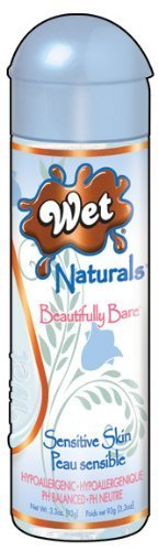Wet Naturals Enriched Intimacy Gel, Beautifully Bare, 3.3-Ounce Bottle (Pack of 2) by Wet