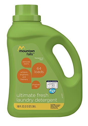 Mountain Falls Phosphate-Free Liquid Laundry Detergent for A