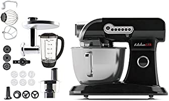 Harper EVOLUTION V2 BLACK - Robot de cocina, 1000 W, color negro ...