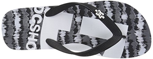 DC Männer Spray Graffik M 3 Point Sandal, EUR: 45.5, White/Black/White 2