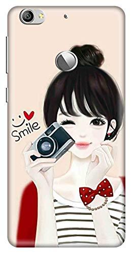 Amazon Brand   Solimo Designer Girl Design 3D Printed Hard Back Case Mobile Cover for LeEco  Letv  Le 1s
