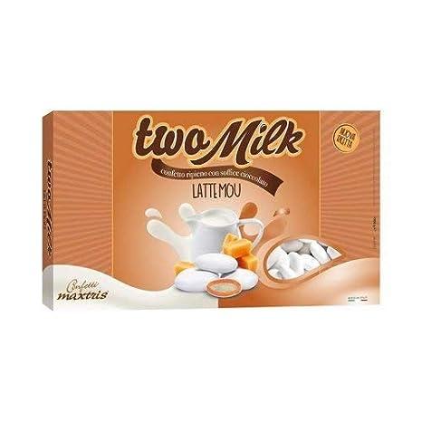 Maxtris| Italiano Jordania de Almendro | Confeti Two Milk Dulce de Leche | 1 Kg.: Amazon.es: Alimentación y bebidas