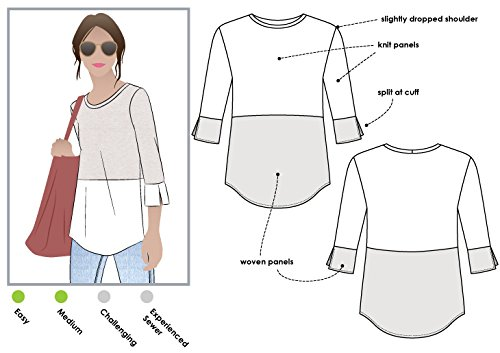 Style Arc Sewing Pattern - Annika Top (Sizes 04-16) - Click for Other Sizes -
