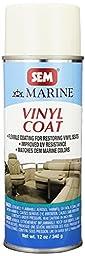 SEM M25063 Ranger White Marine Vinyl Coat - 12 oz.